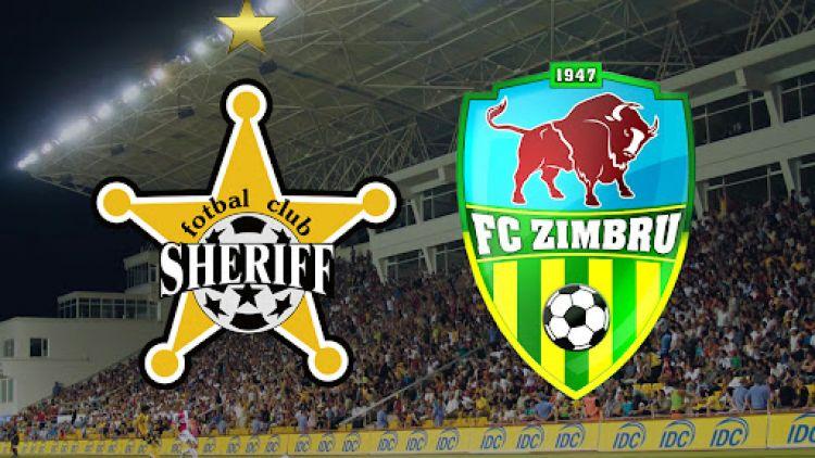 Clasicul Moldovei, Sheriff - Zimbru a fost amânat