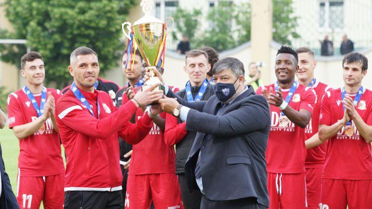 Milsami, premiată pentru locul 3 în Divizia Națională