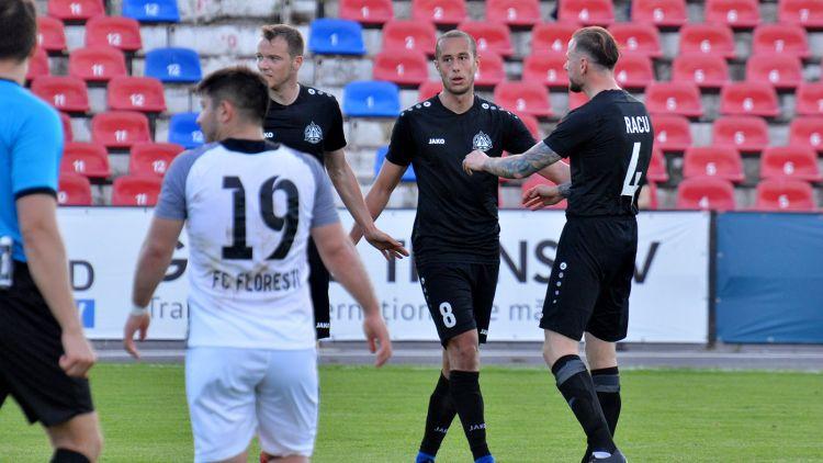 Petrocub – FC Florești 4-0
